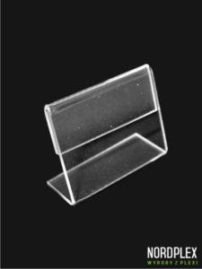 Cenówka, stojak pod cenę, opis - wymiar 4 x 5,5 cm, poziom CN001