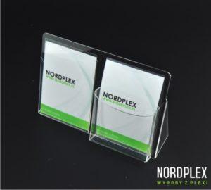 Podajnik na ulotki, foldery, opis – poziom A6, A5, A4, DL UL026